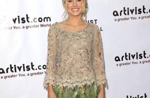 Kristen Bell, ravissante et honorée : L'actrice voit la vie en vert