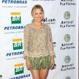 Kristen Bell est à l'honneur lors de la soirée de clôture du Artivist Film Festival à Los Angeles, le 20 août 2011