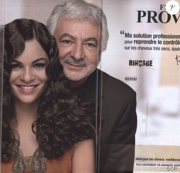 Yelena Noah pose avec Franck Provost