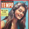 Brigitte Bardot, pour le magazine italien  Tempo  de novembre 1953.