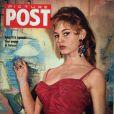 A 19 ans, Brigitte Bardot pose en couverture du magazine britannique  Picture Post . 24 mars 1954.
