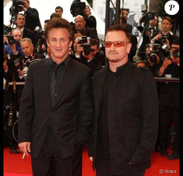 Sean Penn et Bono