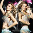 Laura Goncalves, Miss Portugal, pose en danseuse de samba pour le concours de Miss Univers (le 12 septembre)