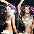 Karin Ontiveros, Miss Mexique, pose en danseuse de samba pour le concours de Miss Univers (le 12 septembre)