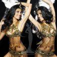Vasuki Sunkavalli, Miss Inde, pose en danseuse de samba pour le concours de Miss Univers (le 12 septembre)