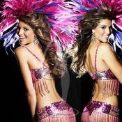 Miss Univers 2011: Laury Thilleman et ses rivales en danseuses de samba