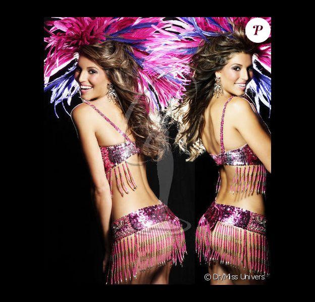 pose en brésilienne pour le concours de Miss Univers (le 12 septembre)
