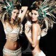 Aoife honnon, Miss Ireland, pose en danseuse de samba pour le concours de Miss Univers (le 12 septembre)