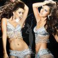 Natalia Gantimurova, Miss Russie, pose en danseuse de samba pour le concours de Miss Univers (le 12 septembre)