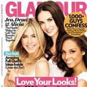 Jennifer Aniston, Demi Moore et Alicia Keys s'unissent