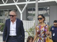 Salma Hayek, François-Henri Pinault et leur adorable Valentina, heureux à Venise