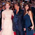 Al Pacino et Lucila Sola lors du festival de Venise le 4 septembre 2011, pour la présentation du film Wilde Salome
