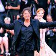 Lucila Sola, Al Pacino et Jessica Chastain lors du festival de Venise le 4 septembre 2011, pour la présentation du film Wilde Salome