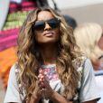 Les stars s'étaient déplacées en masse pour encourager Serena Williams lors de son huitième de finale à l'image de la chanteuse Ciara, présente dans les gradins de l'US Open 2011