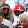 Le réalisateur new yorkais Spike Lee n'a rien raté du match opposant Serena Williams à Ana Ivanovic à l'US Open le 5 septembre 2011