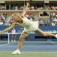 Caroline Wozniacki a bataillé ferme durant trois heures lors de son match face à Svetlana Kuznetsova lors du huitième de final de l'US Open 2011 le lundi 5 septembre 2011