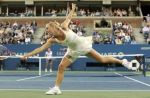 US Open : Caroline Wozniacki, morte de rire, imite le malaise de Rafael Nadal !