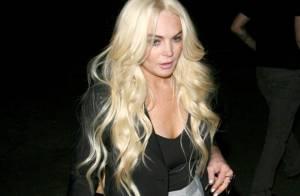 Lindsay Lohan, plus concernée par son look que par ses travaux d'intérêt général