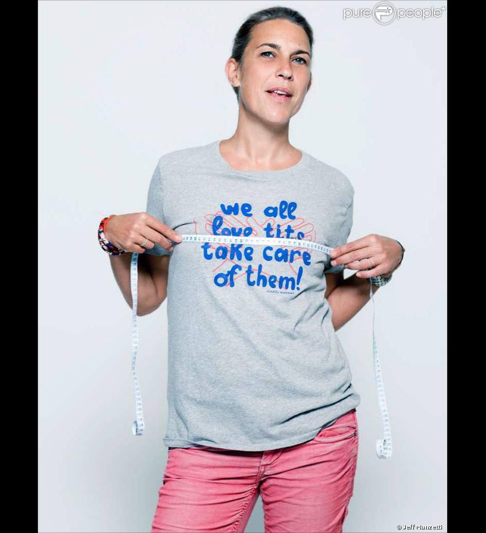 isabel marant pour la campagne le cancer du sein parlons en purepeople. Black Bedroom Furniture Sets. Home Design Ideas