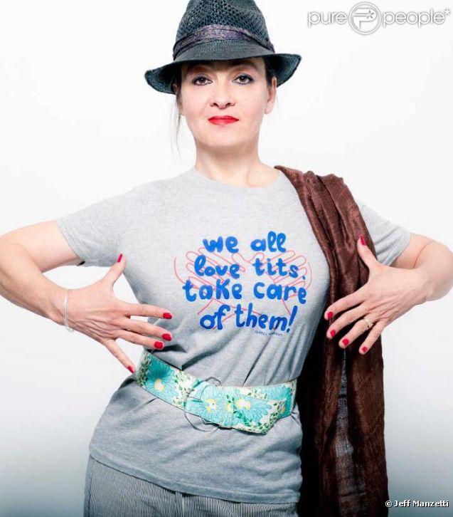 """Catherine Ringer pour la campagne """"Le Cancer du sein, parlons-en !"""""""