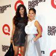 Camilla Alves et Olivia Muun à la Fashion Night Out à New York le 8 septembre 2011