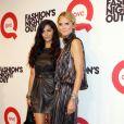 Camilla Alves et Heidi Klum à la Fashion Night Out à New York le 8 septembre 2011