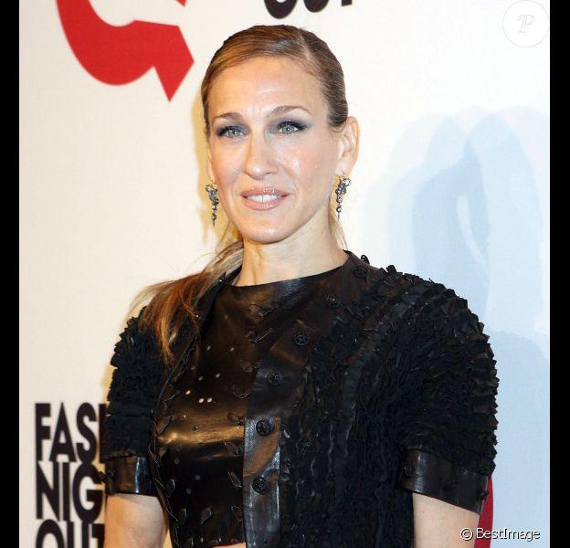 Sarah Jessica Parker à la Fashion Night Out à New York le 8 septembre 2011