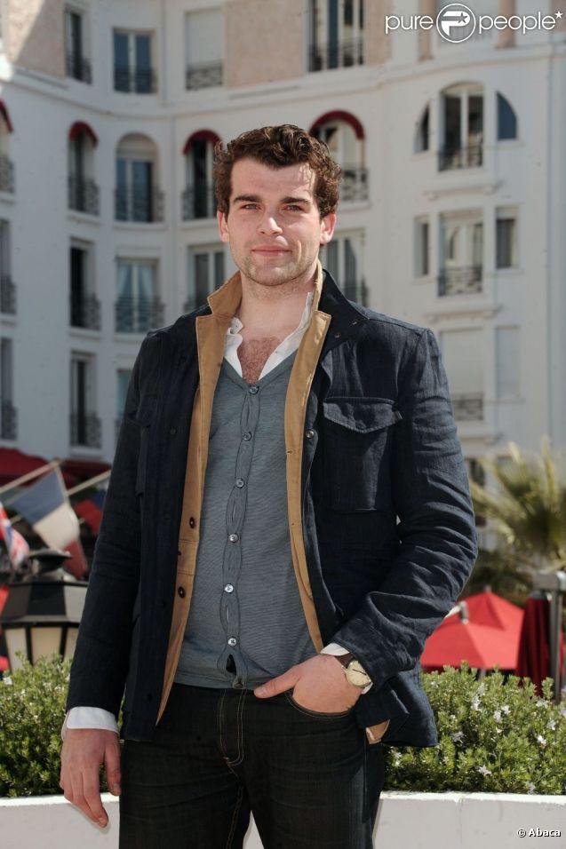 Stanley Weber au MIPTv à Cannes en avril 2011