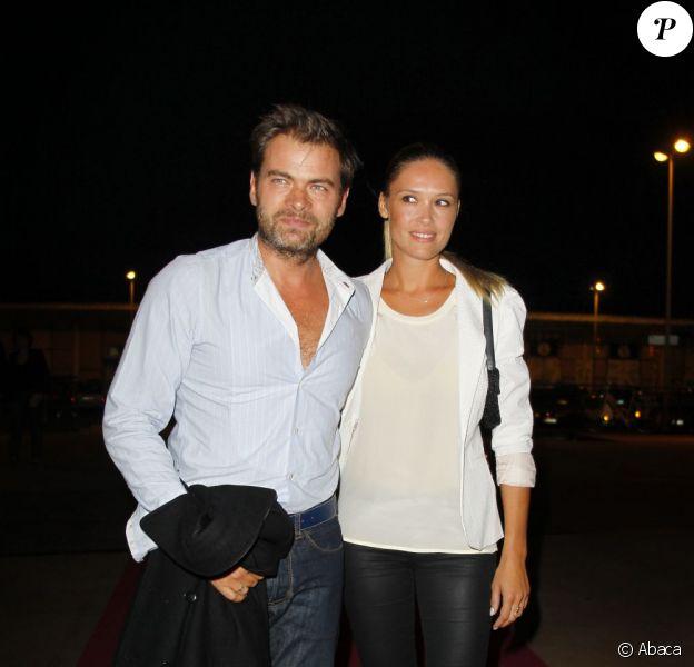 Clovis Cornillac et Lilou Fogli lors du 13ème festival de la fiction de La Rochelle, le 10 septembre 2011