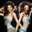 Miss Chine, Luo Zilin, arrivée 5e au concours Miss Univers 2011.