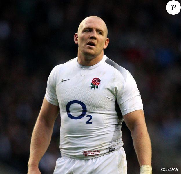 Mike Tindall, capitaine de l'Angleterre durant la Coupe du monde de rugby en Nouvelle-Zélande