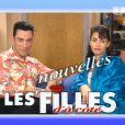 Gérard Vivès et Adeline Blondieau dans  Les Nouvelles Filles d'à côté .