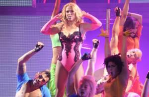 Britney Spears : Sexy et déchaînée pour entamer sa tournée européenne