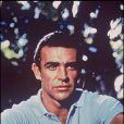 Sean Connery sur le tournage de Dr. No en 1962