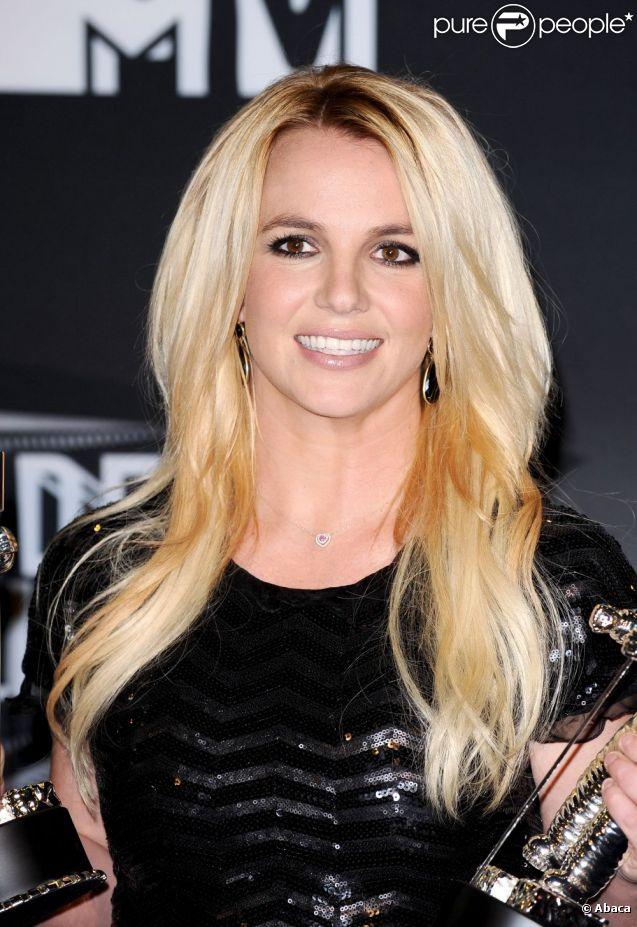 Britney Spears, aux MTV VMA's 2011, à Los Angeles, en août 2011.