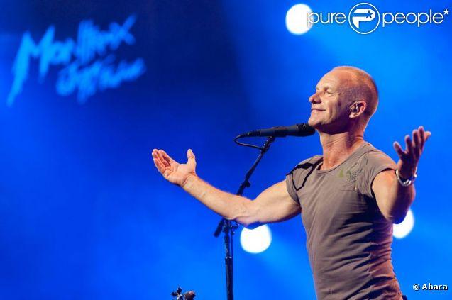 Sting au festival de Montreux en juillet 2011