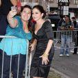 Gloria Estefan à l'avant-première du téléfilm  Five , à New York, le 26 septembre 2011.