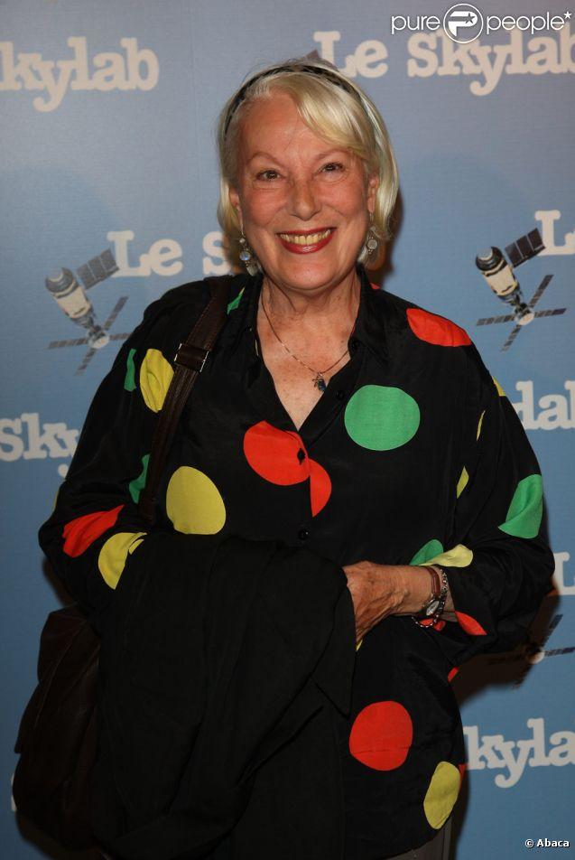 Bernadette Lafont lors de l'avant-première du film Le Skylab à Paris le 27 septembre 2011