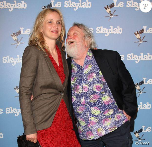 Julie Delpy et Albert Delpy lors de l'avant-première du film Le Skylab à Paris le 27 septembre 2011