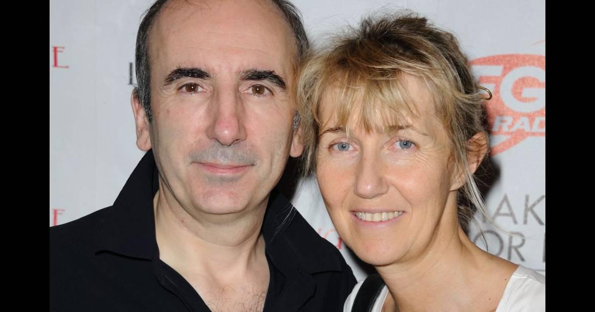 Christophe galtier et sa femme roland garros 2016 les - Christophe barbier et son epouse ...