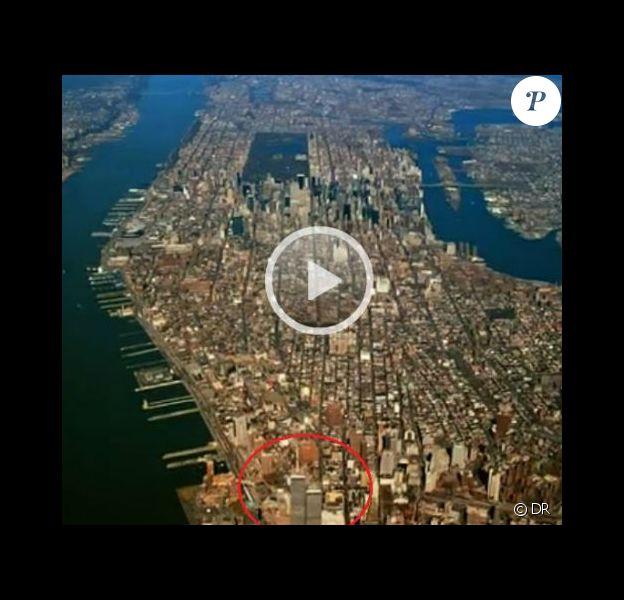 Image extraite du premier épisode de la saison 5 de Gossip Girl, avec les Twin Towers à l'écran... Une bourde monumentale