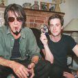 Thomas Dutronc et son père Jacques, 25 juillet 2000.