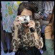 Alexa Chung au défilé printemps-été 2012 de Chloé lors de la Fashion Week parisienne le 3 octobre 2011