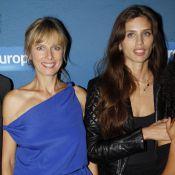 Maïwenn et Karin Viard resplendissent pour la 'Polisse'