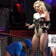 Britney Spears au Femme Fatale tour à Los Angeles le 20 septembre 2011
