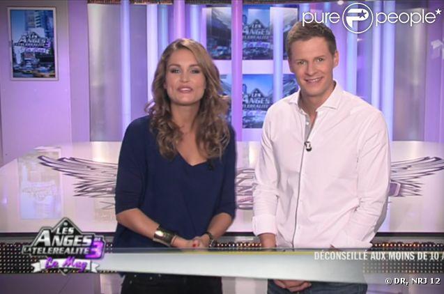 Jeny Priez et Matthieu Delormeau dans les Anges de la télé-réalité 3 - le mag, jeudi 6 octobre sur NRJ 12