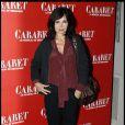 Evelyne Bouix à la première de Cabaret au Théâtre de Marigny à Paris, le 6 octobre 2011.