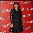 Valérie Expert à la première de Cabaret au Théâtre de Marigny à Paris, le 6 octobre 2011.