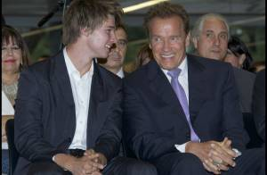 Arnold Schwarzenegger : Fier comme tout devant son fils, c'est la consécration