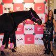 Florence Belkacem. Les trophées Epona 2011 ont eu lieu le week-end des 8 et 9 octobre à Cabourg, sous la présidence de Maxime Le Forestier, grand amoureux du cheval.